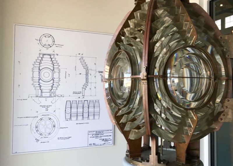 Calvert Marine Museum lighthouse light
