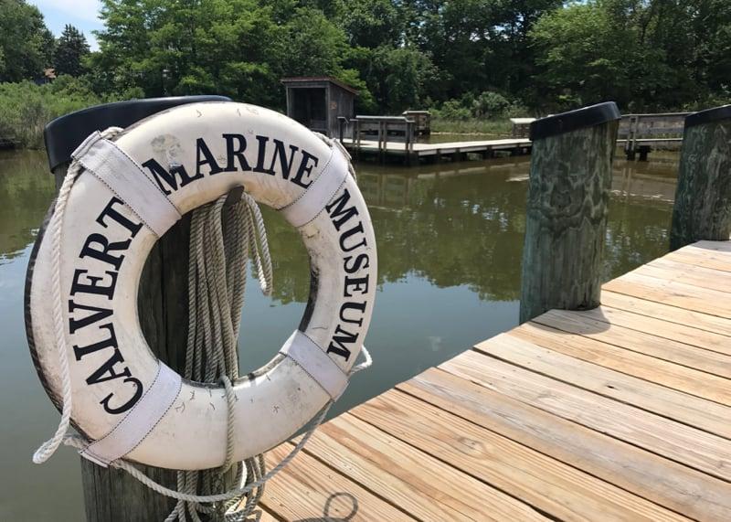 Calvert Marine Museum river walk