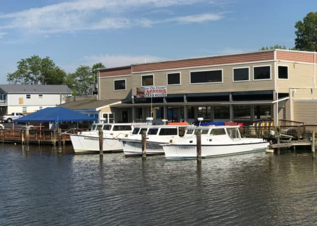 Abner's Crabhouse in Chesapeake City, MD