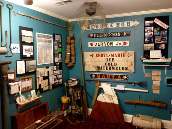Tangier Island Museum display