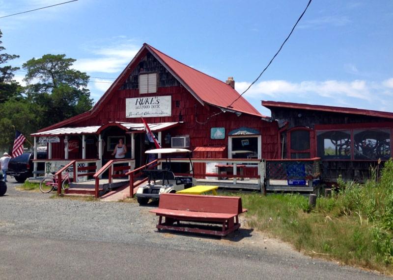 Rukes Restaurant on Smith Island