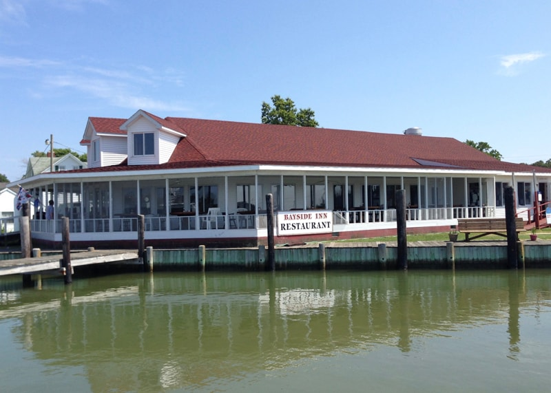 Bayside Inn on Smith Island