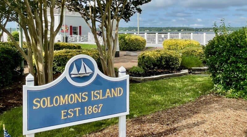Solomons Island, MD, park