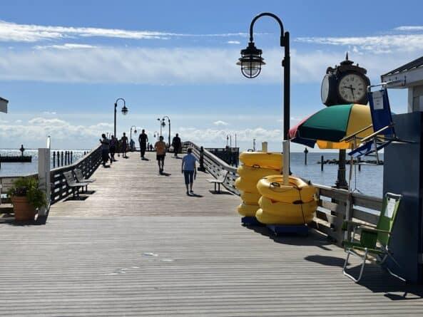 North Beach, MD, city pier
