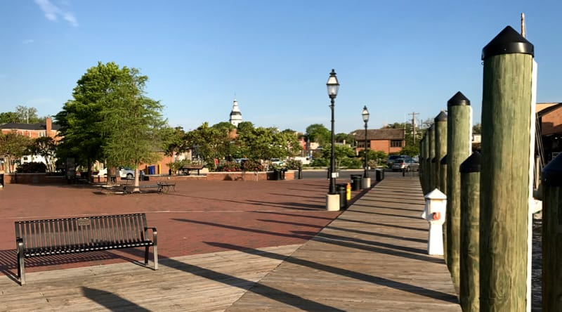 Susan Campbell Park in Annapolis, MD
