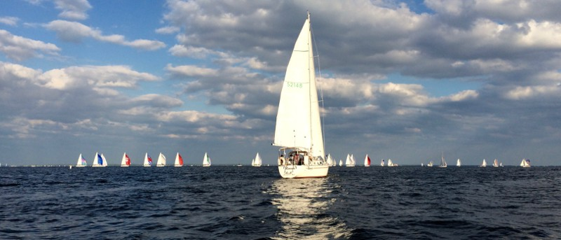 Wednesday sailboat races in Annapolis