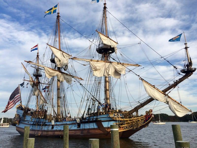 Annapolis tall ship