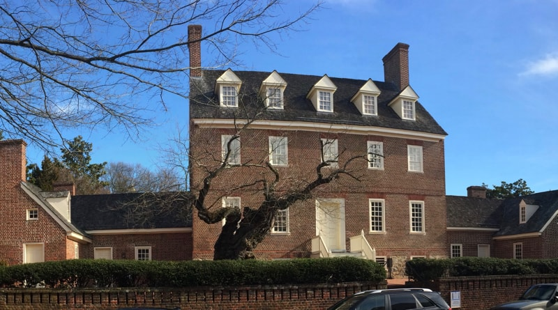 William Paca House in Annapolis, MD
