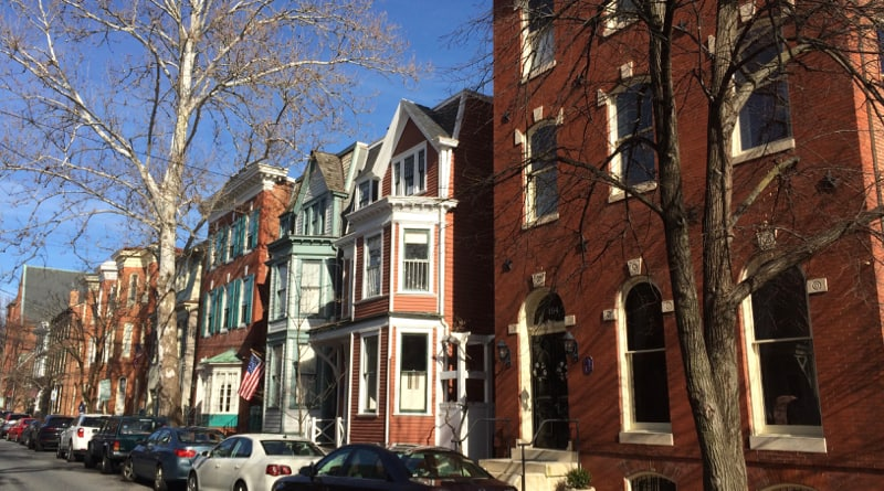 Victorian homes in Annapolis