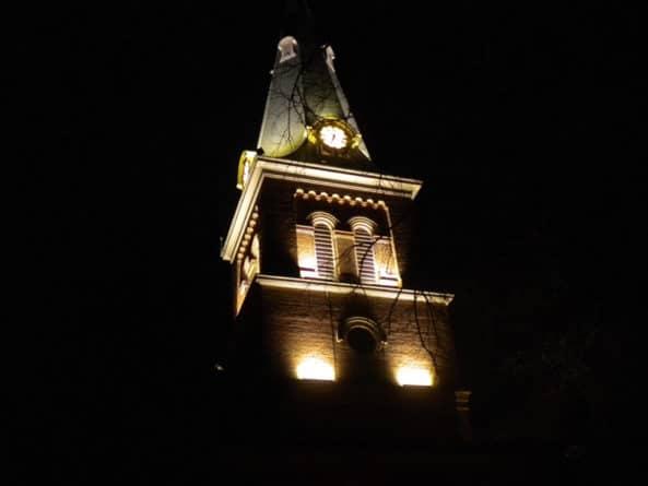 St. Anne's Church steeple, Annapolis