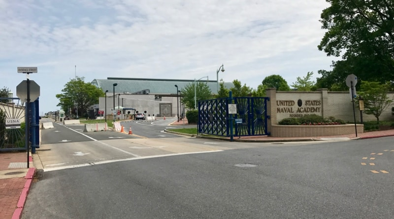 U.S. Naval Academy Public Entrance, Annapolis, MD