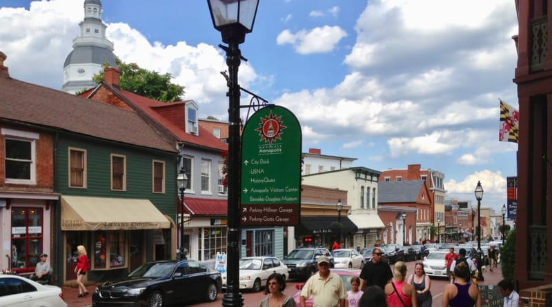 ain Street in Annapolis, Md