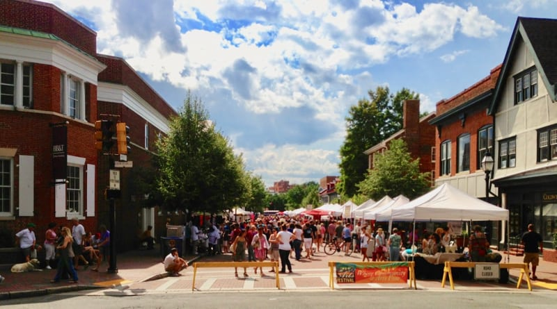 West Street festivals in Annapolis, MD