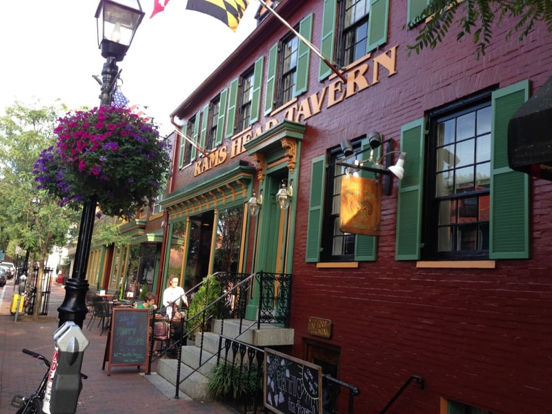 Rams Head Tavern in Annapolis