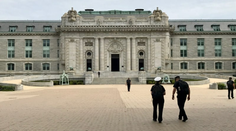 Bancroft Hall at the U.S. Naval Academy