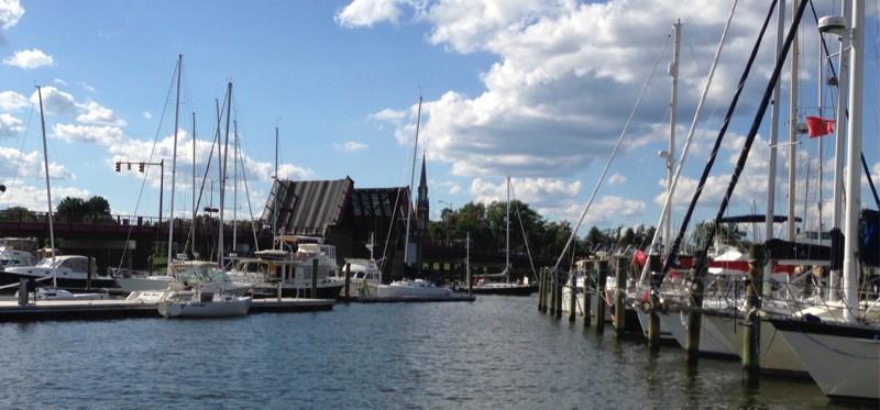Spa Creek Bridge in Annapolis, MD