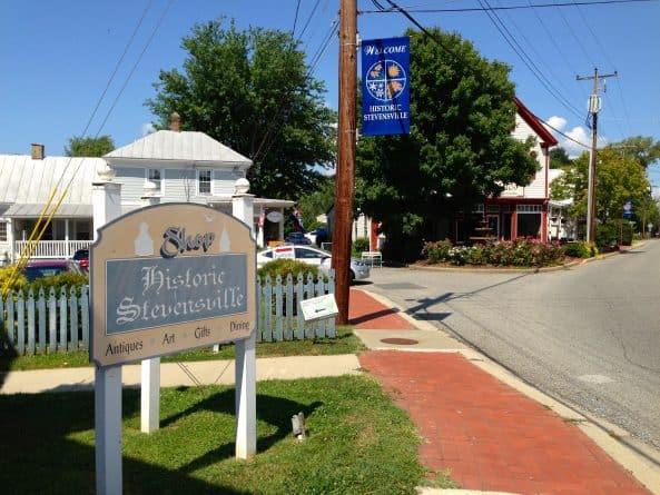 Historic Stevensville on Kent Island, Maryland