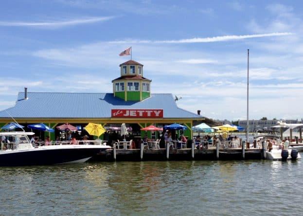 The Jetty waterside restaurant in Kent Narrows, MD