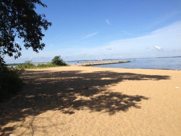 Metapeake Park beach on Kent Island