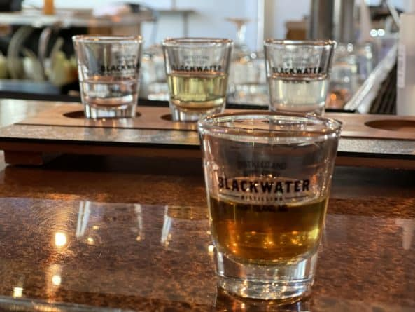Blackwater Distillery tasting, Kent Island