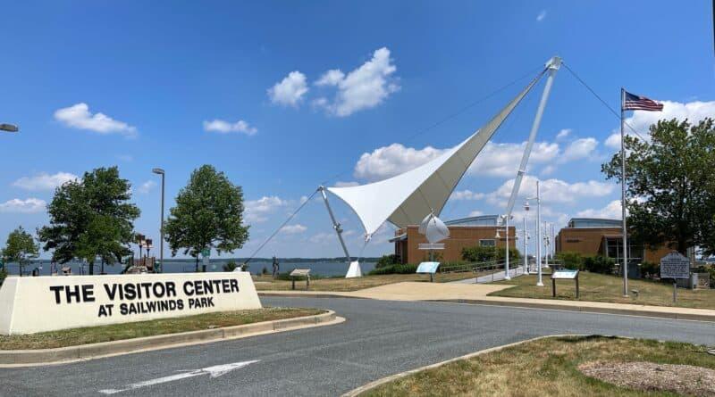 Visitors Center at Sailwinds Park, Cambridge, MD