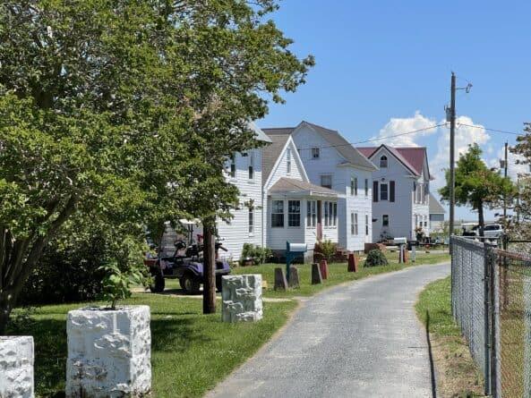 Smith Island residential area