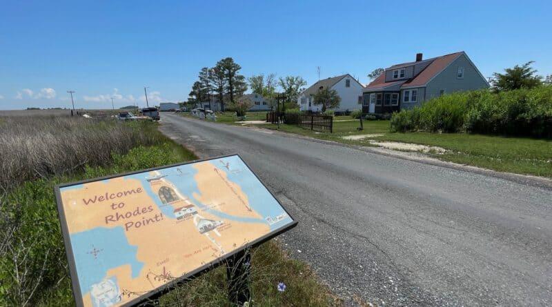 Rhodes Point on Smith Island