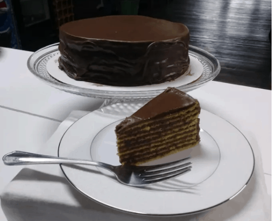 Smith Island chocolate cake