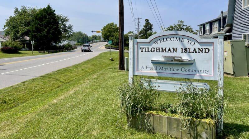Entrance to Tilghman Island, Maryland