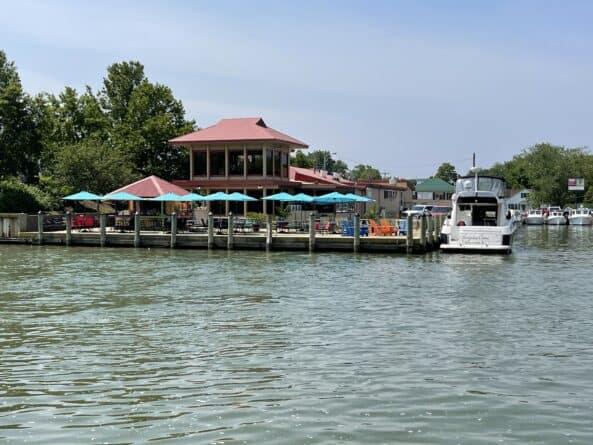 Characters Bridge Restaurant on Tilghman Island