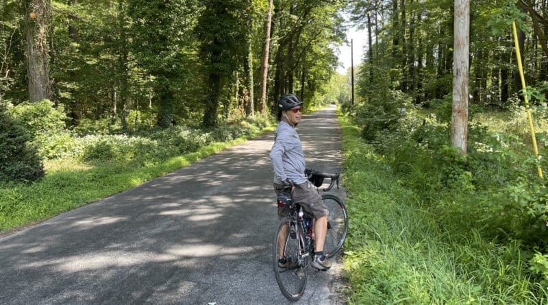 Tunnis Mills Cycling Route near Easton, MD