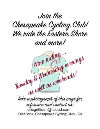 Chesapeake Cycling Club information