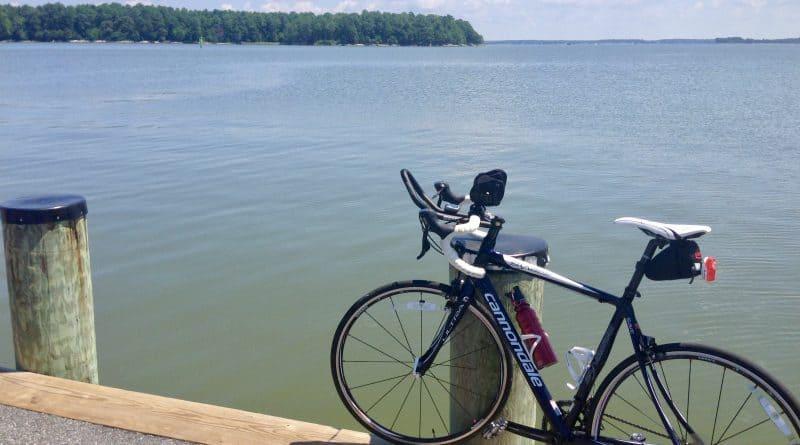 Cycling to Neavitt Landing
