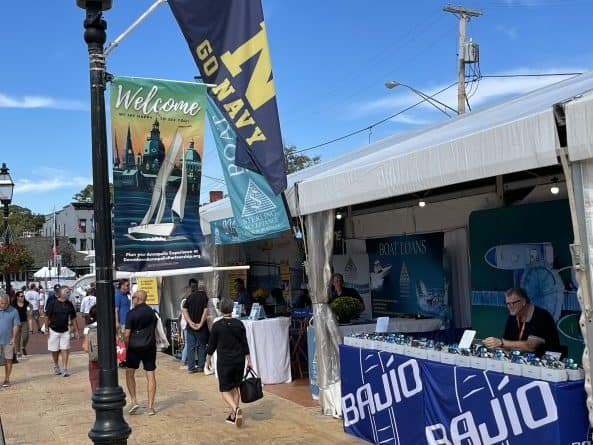 Outside vendors at 2021 Annapolis Boat Show